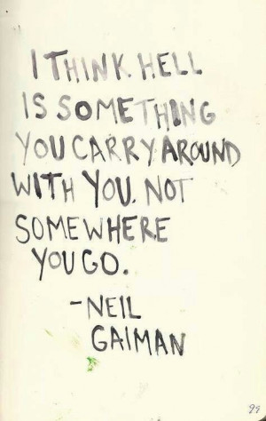 Neil Gaiman is right about hell