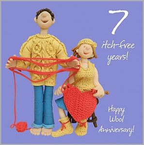 ... 8th 9th 10th 11th 12th 13th 14th + more Fun Wedding Anniversary Card
