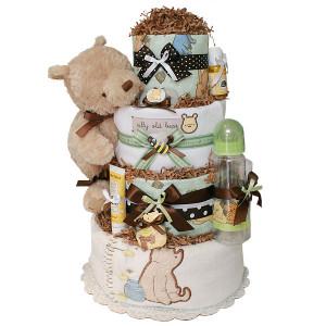 Pooh Bear And Honey Pot Cake