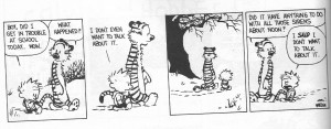Best Calvin and Hobbes Quotes