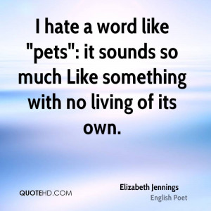 Elizabeth Jennings Quotes