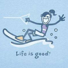 Jackie Waterski - Life is good More