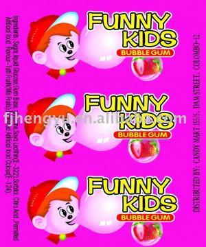funny bubble gum