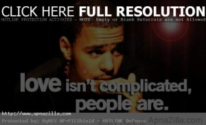Image J Cole Short Quotes and Sayings Rapper About Love (Image) J Cole ...