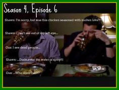 Favorite Episode, Spicy Food, Dead People, Psych Quotes, Funny, Fake ...