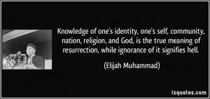 Elijah Muhammad Quotes