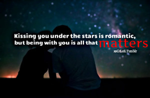kissing quotes with image