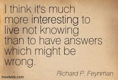 Richard P. Feynman Quotes - Meetville