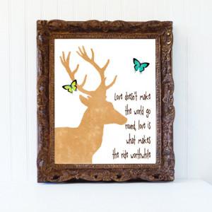 love deer quotes