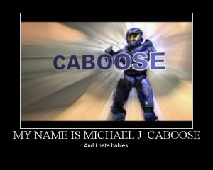 Caboose. caboose from red vs blue.