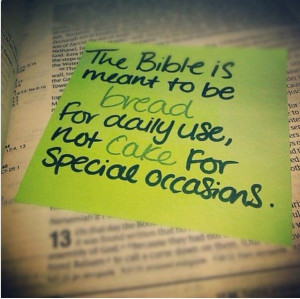 bible #quotes #cake #bread #dailyuse