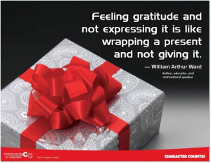 WORTH SEEING: Poster – Feeling gratitude and not expressing it is ...