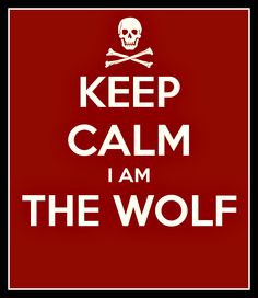 ... wolf you are not strong enough agree or not i m fine i am the wolf