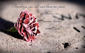 Happy Birthday Up In Heaven Quotes Birthday wishes for someone up