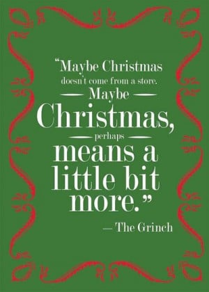 Grinch Quote Printable and Customizable Christmas by artzijen, $5.00