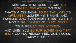 Inspiring Quotes: Tiger Woods Inspirational | PopScreen
