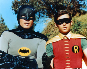 Batman and Robin come to Salt Lake Comic Con