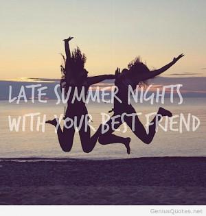 Summer Best Friend Quotes Quotesgram
