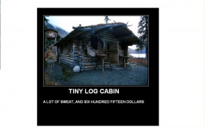 Log Cabin Quotes
