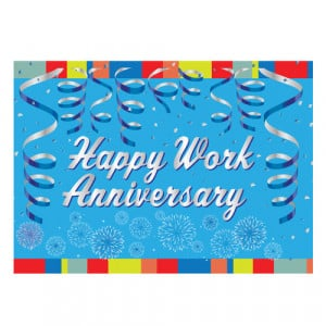 Home > Happy Work Anniversary Greeting Card