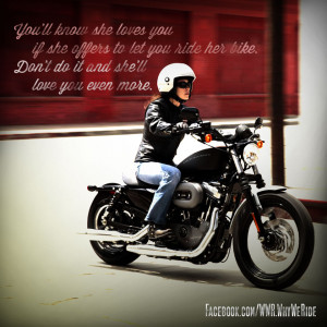 May is Women Riders Month! Here's to all the female riders out there ...