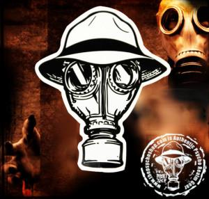 Psycho Realm Gas Mask HD Wallpaper