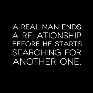 ... he starts searching for another one. #men #relationships #quotes