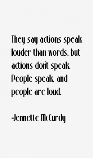Jennette McCurdy Quotes amp Sayings