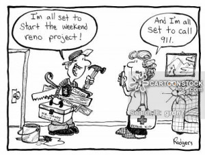 Home Handyman cartoons, Home Handyman cartoon, funny, Home Handyman ...