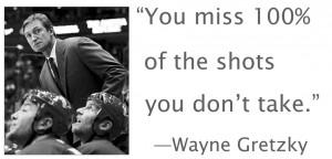 Wayne Gretzky Hockey Quotes