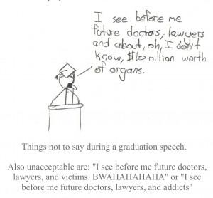 How to Write a Funny Graduation Speech