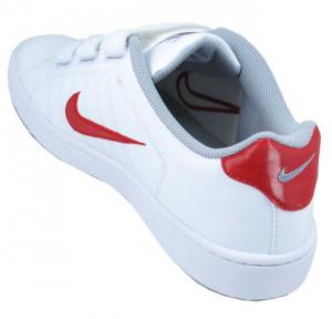 Men 39 s White Velcro Tennis Shoes