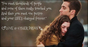 Quote from Love & Other Drugs