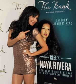 Naya Rivera at her birthday party in 2011