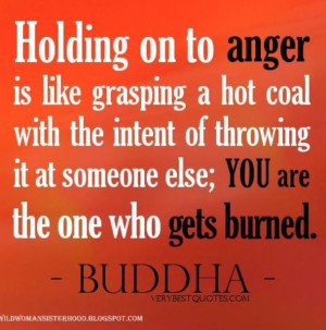Perfect Buddha quote for anger