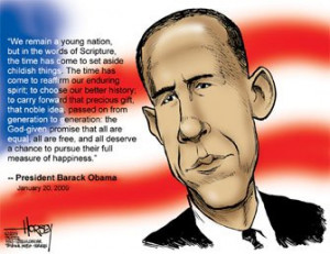 Obama Inauguration Speech Quotes