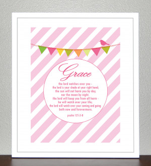 Baptism Bible Quotes For Babies ~ Baby Dedication Baptism Gift Bible ...