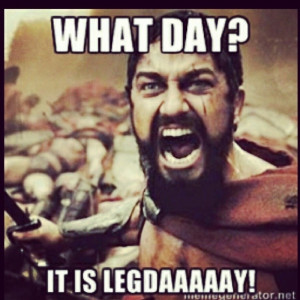 Leg Day Funny Quotes