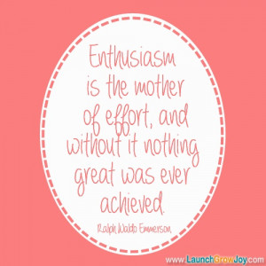 Great quote from Ralph Waldo Emmerson