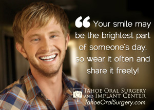 Your smile may be the brightest part of someone's day, so wear it ...
