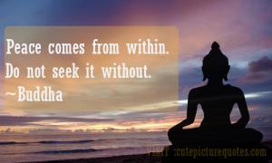 Gautam Buddha Quotes / Peace Quotes
