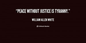 peace and justice quotes
