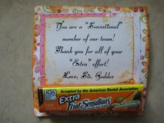 Quotes Using Candy Bar Names from