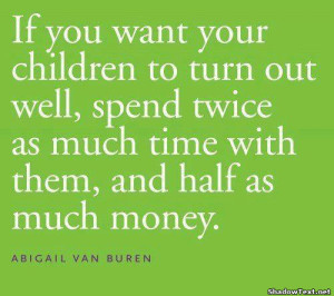 Spend Time, Not Money