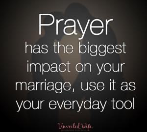 Prayer Has The Biggest Impact