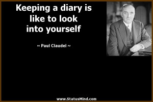 is like to look into yourself Paul Claudel Quotes StatusMind
