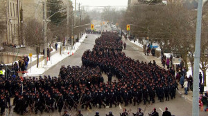 Police officers from across Canada gather in Guelph to pay tribute to ...