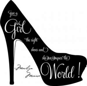 also love shoes because a well-made, pretty shoe gives me an overall ...