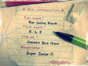 Indonesian ELF Quotes