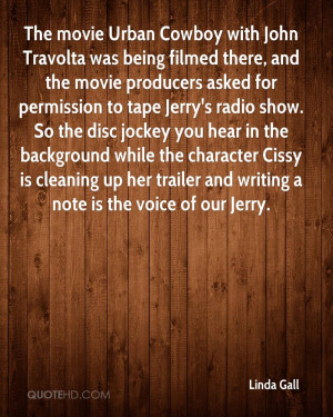 The movie Urban Cowboy with John Travolta was being filmed there, and ...